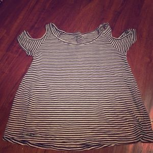 Aeropostale Stripped Blouse (Small)